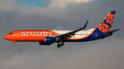 A picture of N830SY - Boeing 73783N - Sun Country Airlines - © CJMoeser
