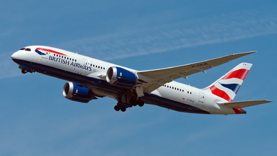 G-ZBJE - Boeing 787-8 Dreamliner - British Airways