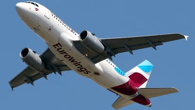 A picture of DAGWC - Airbus A319132 - Eurowings - © Javier Rodriguez - Amics de Son Sant Joan