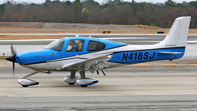A picture of N418SJ - Cirrus SR22T - [1435] - © Brian T Richards