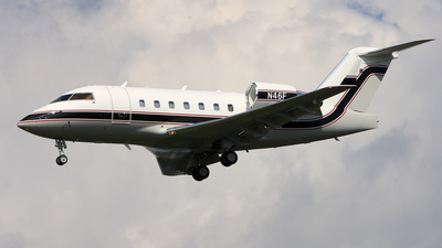 N46F - Bombardier CL-600-2B16 Challenger 604 - Private