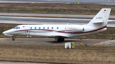 J-001 - Cessna 680 Citation Sovereign - Private