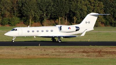 V-11 - Gulfstream G-IV - Netherlands - Royal Air Force