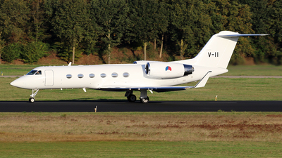 A picture of V11 - Gulfstream IV -  - © Jeroen Stroes