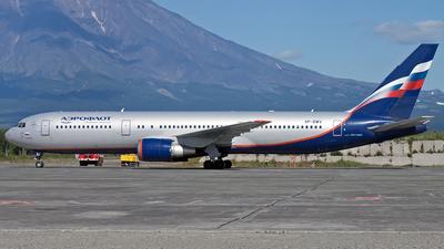 VP-BWV - Boeing 767-3T7(ER) - Aeroflot