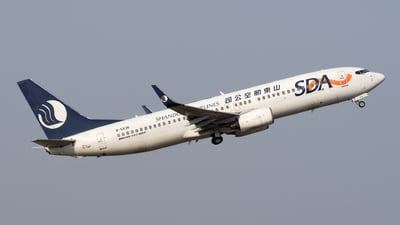 B-5536 - Boeing 737-8AL - Shandong Airlines