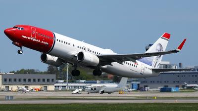 LN-DYW - Boeing 737-8JP - Norwegian