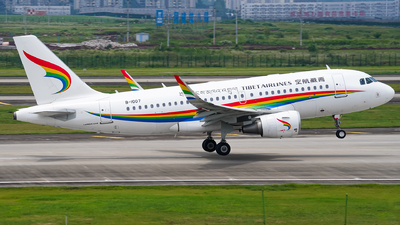 A picture of B1007 - Airbus A319115 - Tibet Airlines - © ZUCKGYQ