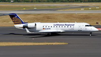 D-ACRB - Bombardier CRJ-200ER - Lufthansa Regional (Eurowings)