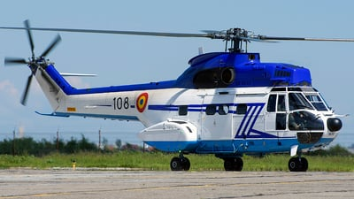 108 - Aérospatiale SA 330B Puma - Romania - Serviciul Roman de Informatii