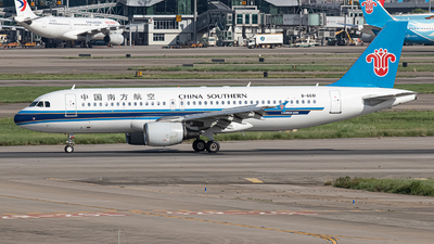 A picture of B6681 - Airbus A320214 - China Southern Airlines - © Leng Hao