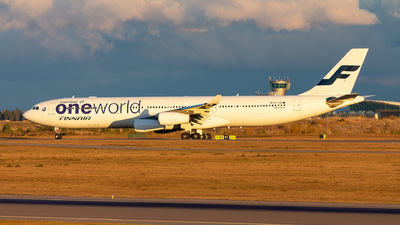 OH-LQE - Airbus A340-313E - Finnair