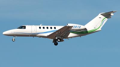 N238TD - Cessna 525C CitationJet 4 - Private