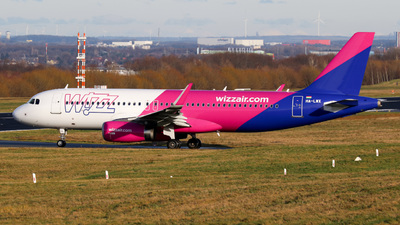 A picture of HALWX - Airbus A320232 - Wizz Air - © Jan-Eike Berger