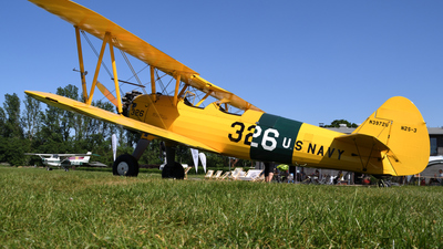 N3972U - Boeing N2S-3 Stearman - Private