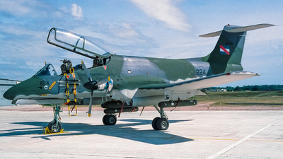 FAU224 - FMA IA-58A Pucará - Uruguay - Air Force
