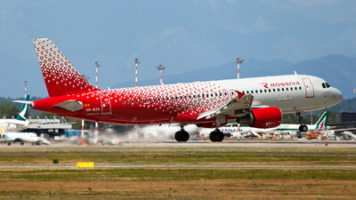 VP-BZQ - Airbus A320-214 - Rossiya Airlines