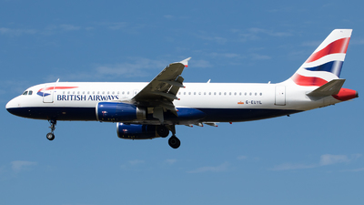 G-EUYL - Airbus A320-232 - British Airways