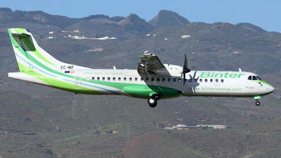 A picture of ECMIF - ATR 72600 - Binter Canarias - © Vincent de Koning
