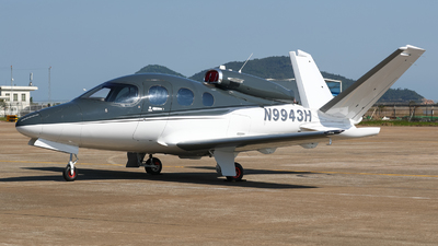 N9943H - Cirrus Vision SF50 - Private