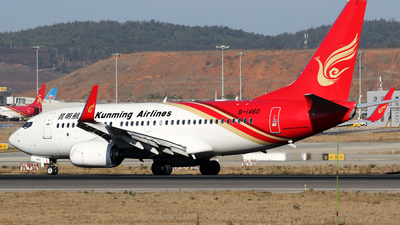B-1460 - Boeing 737-7LY - Kunming Airlines