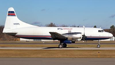 A picture of N191FL - Convair CV580 - IFL Group - © GregMac
