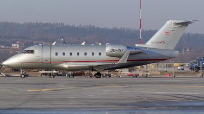 OE-INY - Bombardier CL-600-2B16 Challenger 604 - VistaJet