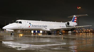 A picture of N833AE - Embraer ERJ140LR - American Airlines - © Craig L Baldwin