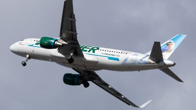N230FR - Airbus A320-214 - Frontier Airlines