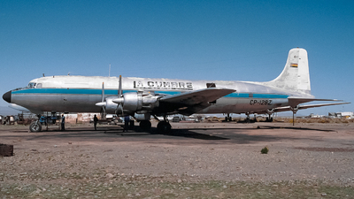 CP-1282 - Douglas DC-6A Liftmaster - La Cumbre Transportes Aereos