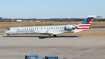 A picture of N593NN - Mitsubishi CRJ900LR - American Airlines - © Oliver Richter