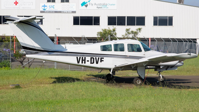 VH-DVF - Beechcraft 76 Duchess - Private