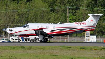 A picture of N175WA - Pilatus PC12/47E - [1750] - © Huy Do