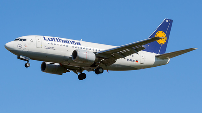 D-ABJE - Boeing 737-530 - Lufthansa