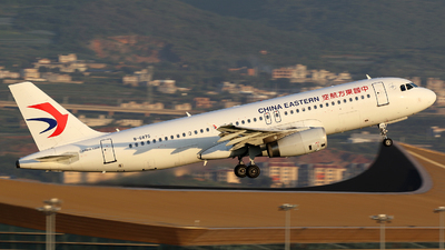 A picture of B6875 - Airbus A320232 - China Eastern Airlines - © Zhangliming