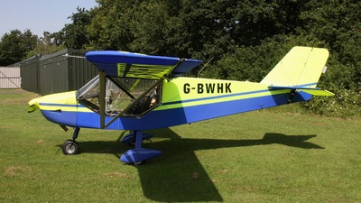 G-BWHK - Rans S-6ES Coyote II - Private