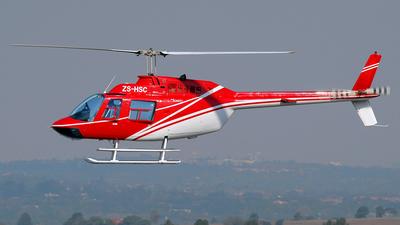 ZS-HSC - Bell 206B JetRanger II - Private