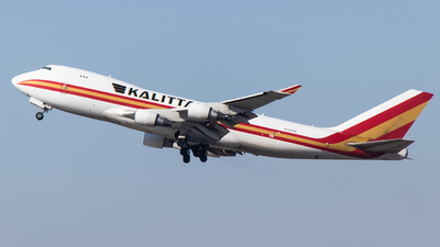 A picture of N705CK - Boeing 7474B5F - Kalitta Air - © CES7183