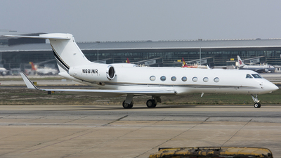 N881WR - Gulfstream G550 - Private