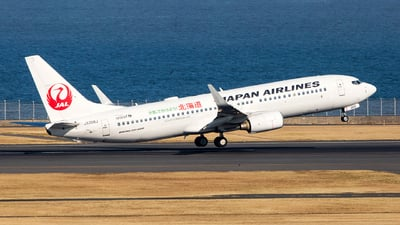 JA306J - Boeing 737-846 - Japan Airlines (JAL)