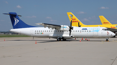 A picture of EISLF - ATR 72201(F) - ASL Airlines - © Simon Reichert