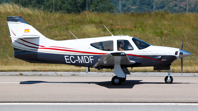 EC-MDF - Rockwell Commander 112A - Private