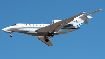 N750EA - Cessna 750 Citation X - Private