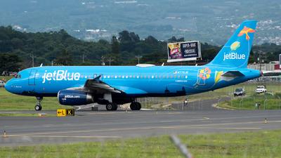 A picture of N779JB - Airbus A320232 - JetBlue Airways - © Jose Villarreal SJO Spotters