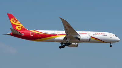 A picture of B207J - Boeing 7879 Dreamliner - Hainan Airlines - © xuhaoqing995