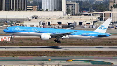 A picture of PHBVN - Boeing 777306(ER) - KLM - © Rocky Wang