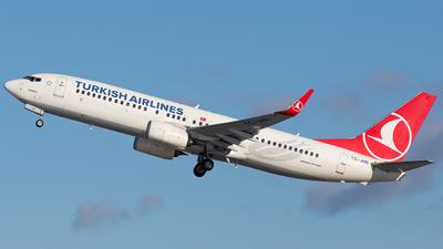 A picture of TCJHR - Boeing 7378F2 - Turkish Airlines - © Patrick Stoeckli