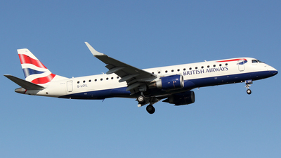 A picture of GLCYL - Embraer E190SR - British Airways - © Alessandro Berti - Tuscan Aviation
