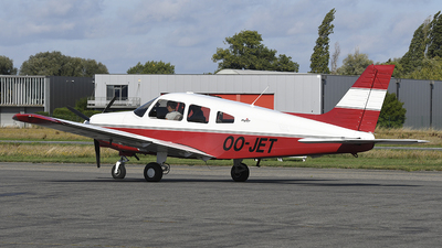 OO-JET - Piper PA-28-161 Warrior III - Brussels Aviation School