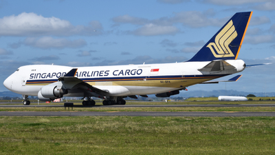 9V-SVK - Boeing 747-412F(SCD) - Singapore Airlines